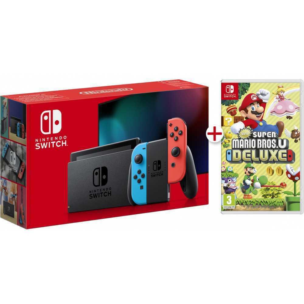 Nintendo Switch + Super Mario Bros Deluxe