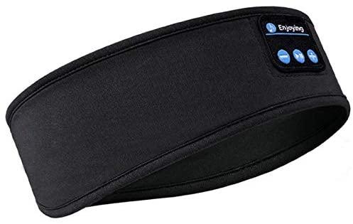 Auriculares para dormir con diadema Bluetooth, auriculares inalámbricos para dormir suaves con parlantes ultrafinos para dormir de lado para jugar durante mucho tiempo Auriculares para dormir para entrenamiento,deporte (LD-6)