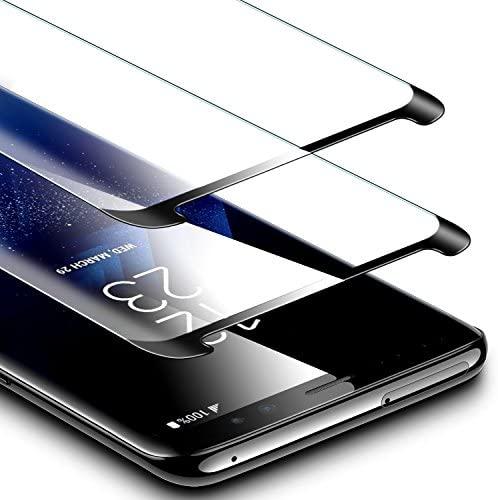 """ESR Protector Pantalla para Samsung S9+ S9 Plus [2 Pack], Cristal Templado 9H Dureza [Garantía de por Vida] Anti-Huellas, Resistente a Arañazos para Samsung Galaxy S9 Plus S9+ de 6,2"""""""