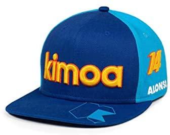 Kimoa – Gorra Plana FA memories, Azul, Estándar Unisex Adulto