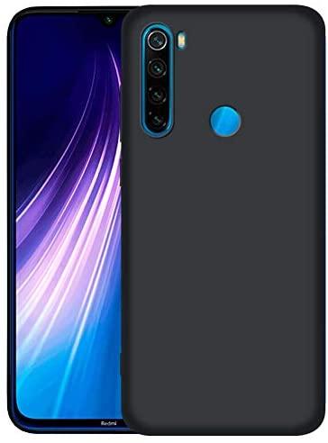 LAYJOY Funda Xiaomi Redmi Note 8, Ligera Carcasa Silicona Suave TPU Gel Bumper Case de Protectora [Antideslizante] [Anti-Golpes] Cover para Xiaomi Redmi Note 8 (2019) 6.3 Pulgadas -Negro