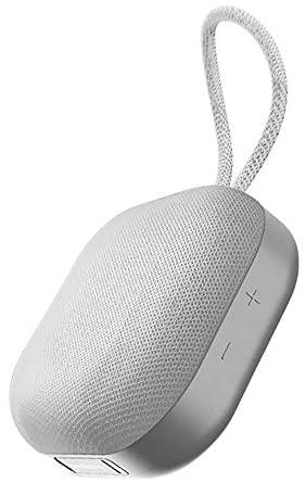 Omthing EO004- – Altavoz Bluetooth con núcleo de sonido mini, superportátil con 15 horas de reproducción, graves mejorados, cancelación de ruido con micrófono