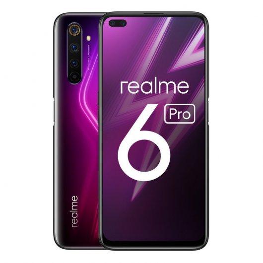realme 6 Pro 6/128GB Lightning Red Libre