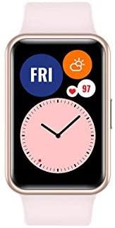 """HUAWEI Watch FIT – Smartwatch con Cuerpo de Metal, Pantalla AMOLED de 1,64"""", hasta 10 días de batería, 96 Modos de Entrenamiento, GPS Incorporado, 5ATM, Color Negro"""