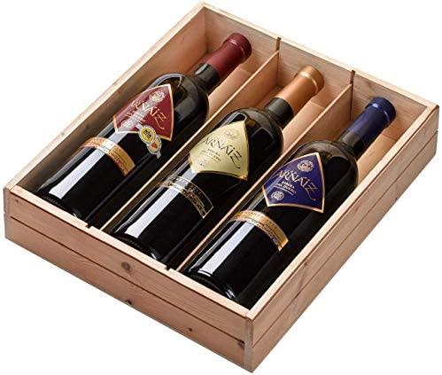 Viña Arnaiz – Estuche de 3 Botellas de Vino con D.O. Ribera del Duero – Reserva, Crianza y Roble – Estuche de 3 Botellas x 750 ml