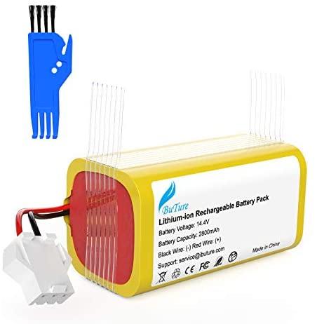 BuTure 2800mah Batería de Reemplazo para Conga Excellence 990, 14.4V Li-Ion Batería Compatible con Conga Excellence 950 1090 Eufy RoboVac 11 11S 12 30 30C 15C 35C DEEBOT N79S N79 601 605 DN622 DN621