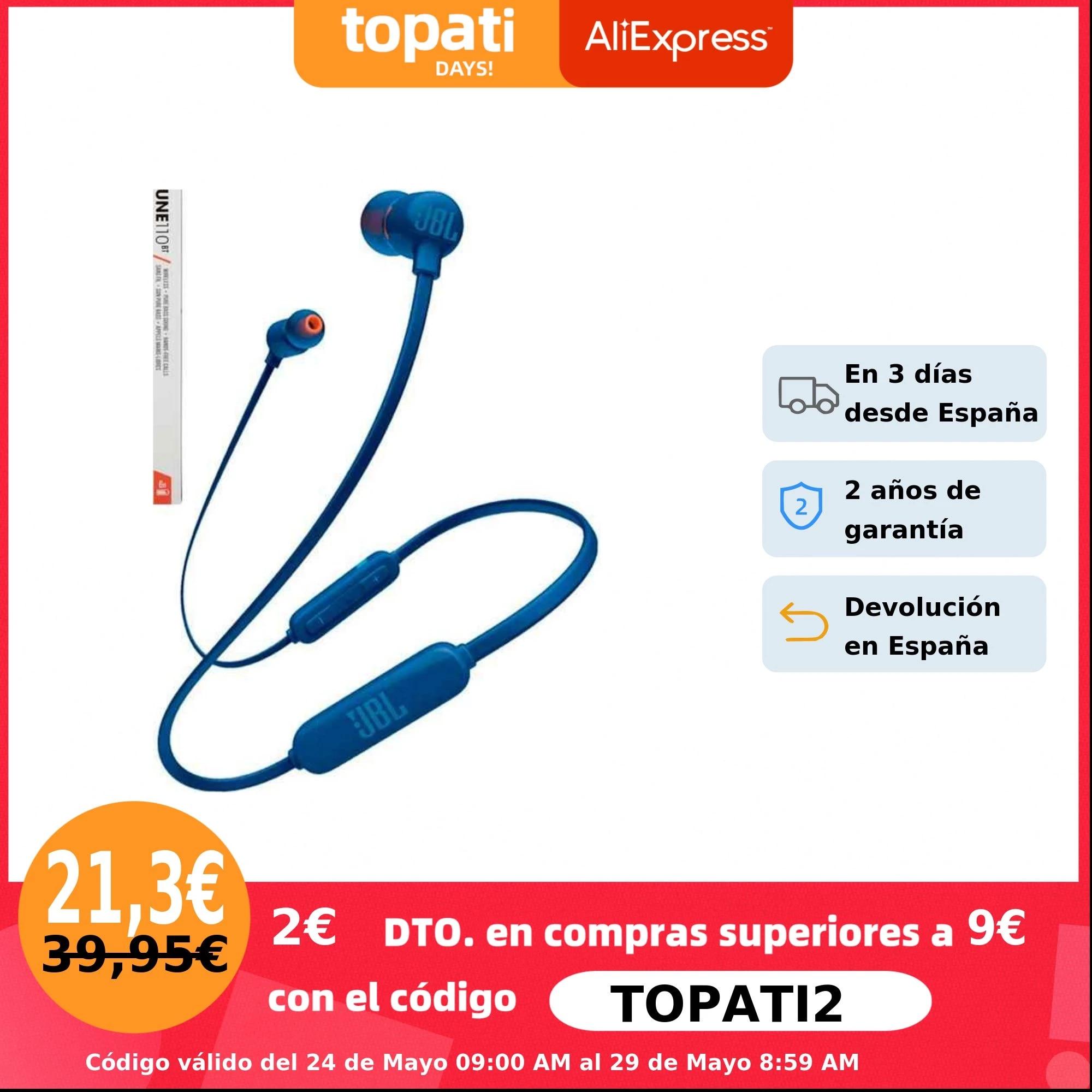 JBL Tune 110BT Bluetooth In Ear Headset.