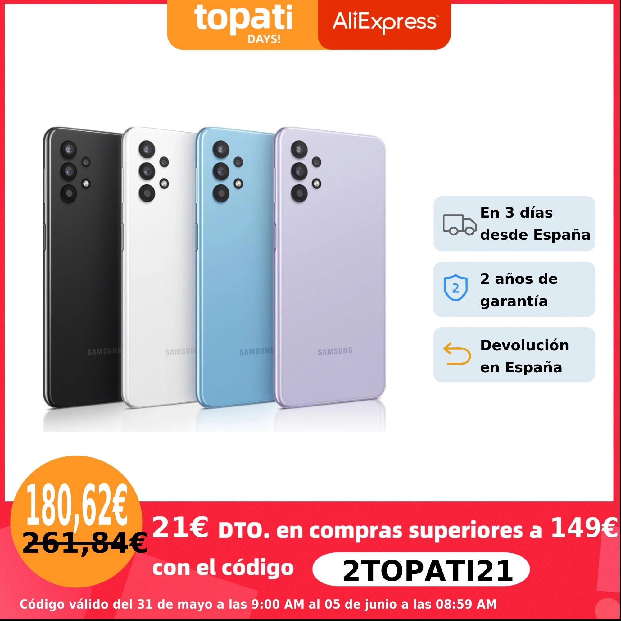 Samsung Galaxy A32, 4GB + 128GB , 6.5 «Super AMOLED