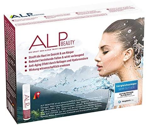 ALP BEAUTY Colágeno Hidrolizado Acido Hialurónico Vitamina C Zinc 14×25 ml Ampollas bebibles antiedad con peptidos de colageno verisol complejo vitaminico biotina glucosamina
