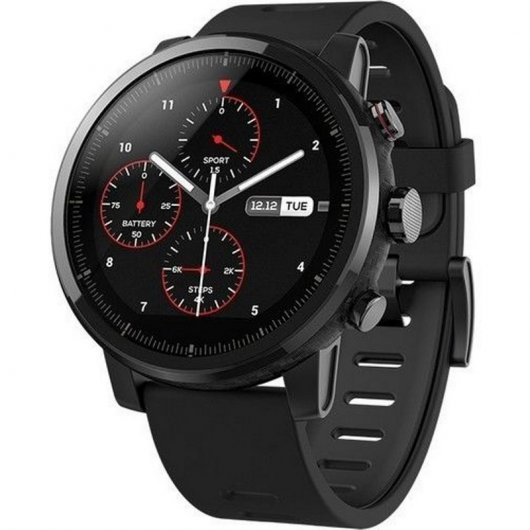 Amazfit Stratos Smartwatch Negro