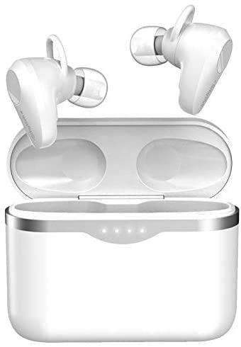 Auriculares Inalámbricos Bluetooth 5.1 con Cancelación de Ruido Activa, Srhythm Soulmate S5 TWS Wireless Earbuds con 4 Micrófonos, 50 Horas de Reproducción, Sensor Táctil, TV/Móvil/PC