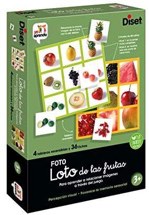 Diset- Loto Photo Juego Educativo para Niños, Multicolor (68943)