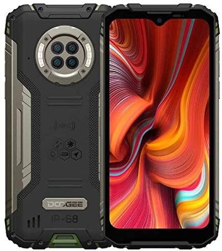 DOOGEE S96 Pro IR Visión Nocturna Smartphone Resistente, Helio G90 8GB+128GB, Cámara Cuatro 48MP (Infrarrojos 20MP), Móvil Antigolpes IP68 6.22´´, Batería 6350mAh(Carga Inalámbrica) GPS NFC Verde