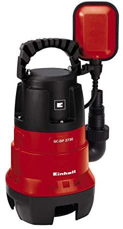 Einhell GH-DP 3730 – Bomba de aguas sucias (370W, capacidad de 9.000 l/h, profundidad max. de inversión 5m, conexión de manguera 47.8mm, cuerpos extraños hasta 30 mm) (ref.4170471)