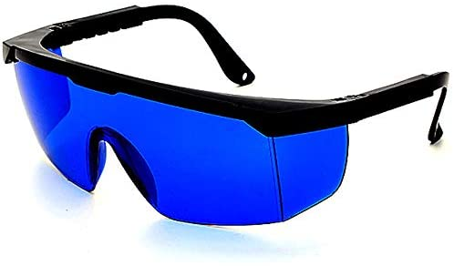 Gafas de protección láser IPL, gafas para equipo de belleza, azul