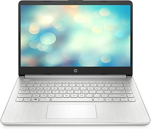 """HP 14s-dq2004ns – Ordenador portátil de 14"""" FullHD (Intel Core i5-1135G7, 8GB de RAM, 512GB SSD, Intel Iris Xe, Sin sistema operativo ) Plata – teclado QWERTY Español"""