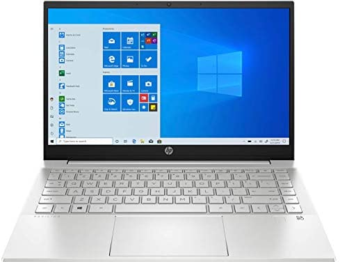 "HP Pavilion 14-dv0012ns – Ordenador portátil de 14"" FullHD (Intel Core i5-1135G7 , 16 GB RAM, 512 GB SSD, NVIDIA GeForce MX350-2GB, Windows 10) Plata – Teclado QWERTY español"