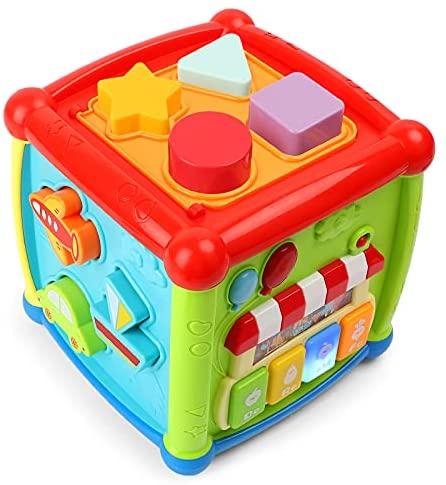 Juguete Educativo 1 Año 2 Años,Juguete Musical Bebe,Centro de Actividades,Sonidos y Luces