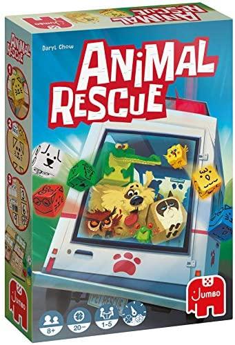 Jumbo – Animal Rescue – Juego de mesa de dados a partir de 8 años