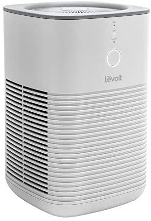 Levoit Purificador de Aire con Dual Filtro HEPA H13, Modo de Sueño Silencioso, Hasta 15m², 3 Velocidades, Fácil Uso de Un Toque, Elimina 99,97% de Alergias, Polen, Tabaco, Olor, PM2.5, Libre de Ozono