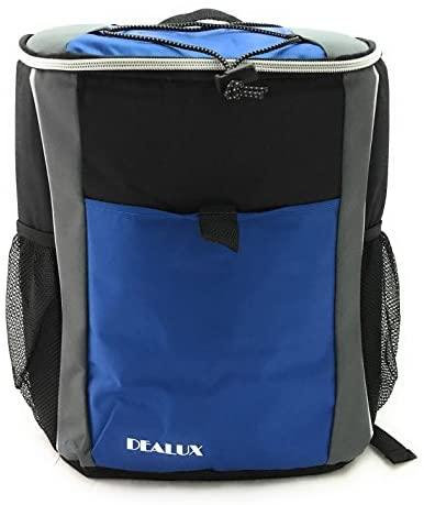 Mochila Delivery térmica Backpack azul 19 litros para comida y bebidas de llevar.
