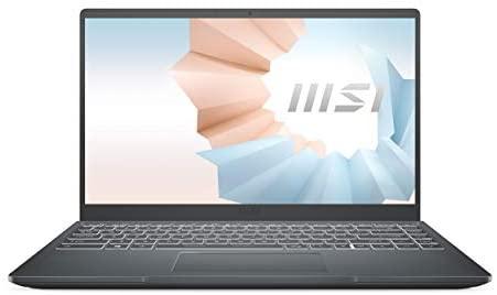 "MSI Modern 15 A11SB-011ES – Ordenador portátil de 15.6"" FullHD (Intel Core i7-1165G7, 16 GB RAM, 1 TB SSD, NVIDIA GeForce MX450, Windows 10 Home Plus) Carbon gray – Teclado QWERTY Español"