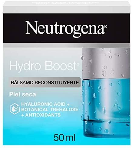 Neutrogena Hydro Boost Bálsamo Reconstituyente, Hidratante Facial para Piel Seca, 50Mililitros