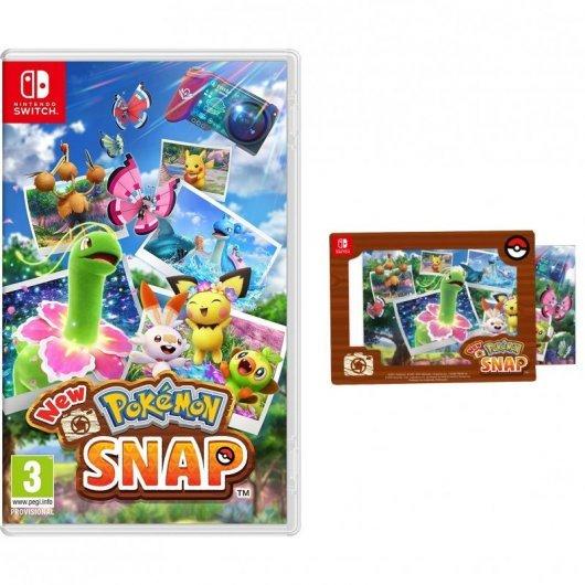New Pokémon Snap Nintendo Switch + Nintendo Goodie Marco Adhesivo New Pokémon Snap