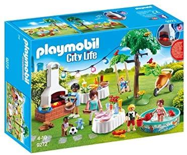 Playmobil – City Life Playset Fiesta en el Jardín, Multicolor (9272)
