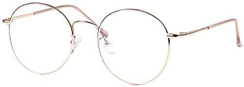 ROSA&ROSE Gafas para Ordenador Anti luz Azul – Gafas con Filtro de luz Azul bloqueo de luz azul Evita la Fatiga Ocular para Hombre Mujer