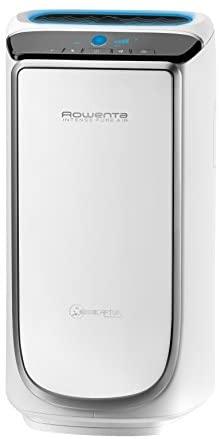 Rowenta Intense Pure Air PU4020, Purificador de aire, hasta 60 m2 con sensores del nivel de contaminación, 4 niveles de filtración y tecnología NanoCaptur para sustancias contaminantes