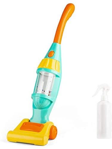 RuiDaXiang Juego de aspiradora para juguete, Aspiradora eléctrica Con luces, sonidos. Pretenden ser herramientas de limpieza,niños de 3 a 6 años