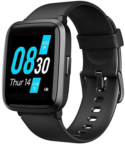 UMIDIGI Reloj Inteligente con Oxímetro (SpO2) Smartwatch con Monitoreo de Frecuencia Cardíaca para Hombre Reloj Deportivo para Mujer Rastreador de Ejercicios Monitor de Sueño para iPhone Android