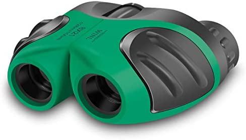 yyhappy Childhood Binoculars Juguete 4-11 Años De Edad, Regalo De Niña Adolescente,Verde