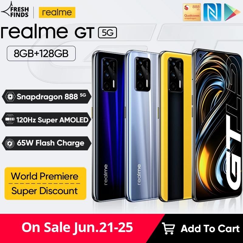 Global Version realme GT 5G
