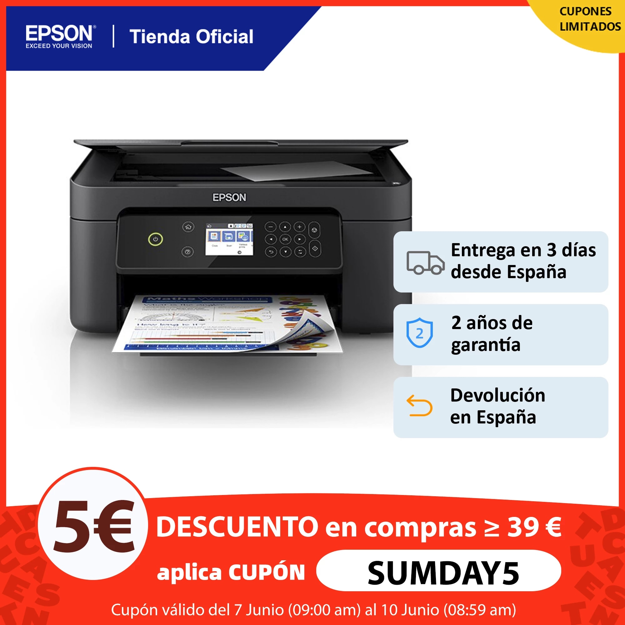 Multifunction printer EPSON Expression Home XP-4100