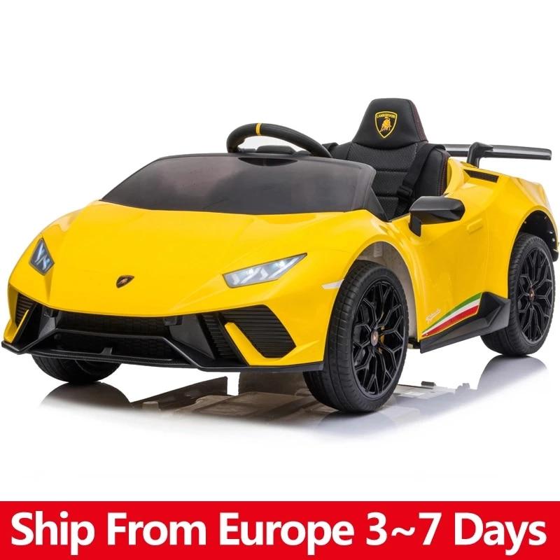 Electric Car For Children Lamborghini Four Wheel Drive 12V