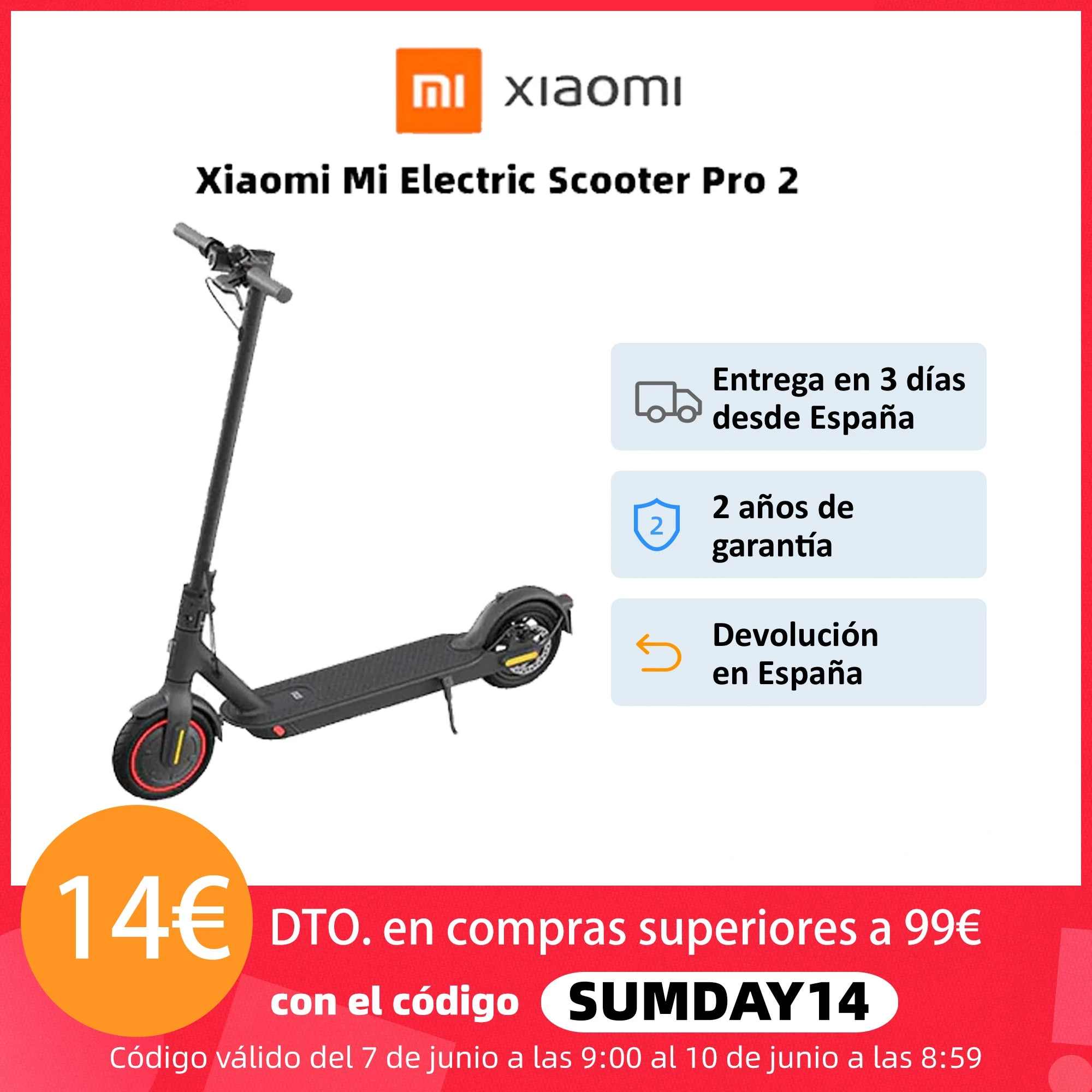 Xiaomi Mi Electric Scooter Pro 2 and Mercedes Edition
