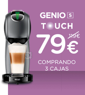 Cafetera Genio S Touch
