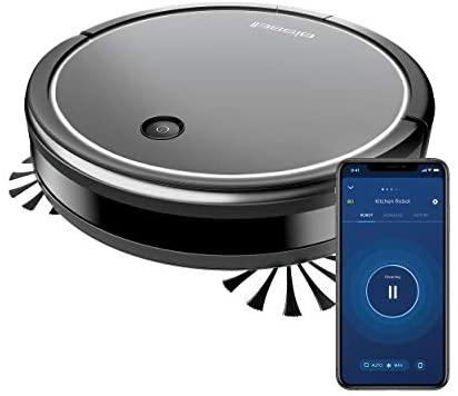 Bissell 2908N – CleanView Connect, Robot Aspiradora con Función WLAN, 1500 PA de Potencia de Succión, 100 Minutos de Funcionamiento, Conectado con Función de Aspiración en Seco