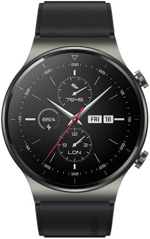 """HUAWEI Watch GT 2 Pro – Smartwatch con Pantalla AMOLED de 1.39"""", hasta Dos semanas de batería, Negro, 46 mm"""