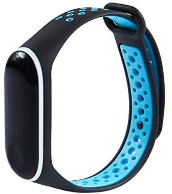 KOMI Correas compatibles con Xiaomi Mi Band 4 / Mi Band 3, Coloridas Mujeres Hombres Silicona Fitness Deportes Banda de Reemplazo