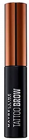 Maybelline New York, Tinte de Cejas Semi-permanente, Fórmula peel-off despegable, Tono: 02 Medium Brown, 4.6 ml