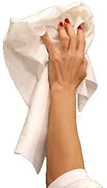 MEDICAL SUD PROFESSIONAL 50 Toallitas Desechables En No Tejido Absorbente Suave Y Resistente Cm 30 x 40