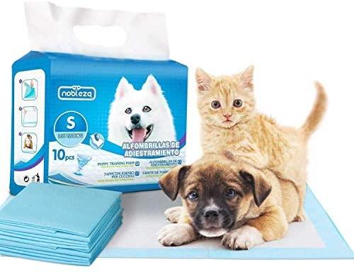 Nobleza – 100 x Empapadores Perros Alfombrilla higiénica de Entrenamiento para Perros. Ultraabsorbente 60cm*40cm.