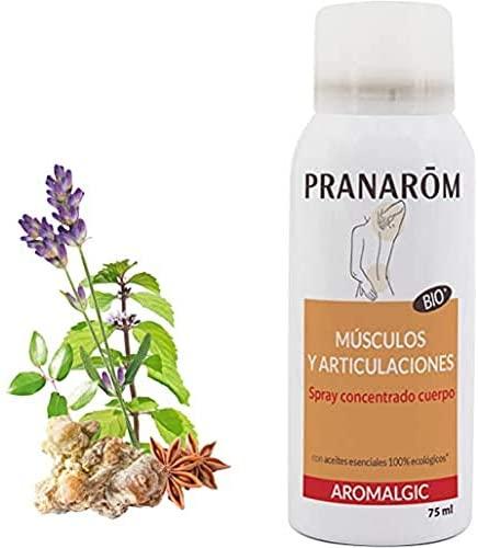 Pranarôm – Aromalgic – Spray Concentrado Cuerpo – Músculos y articulaciones – 75 ml