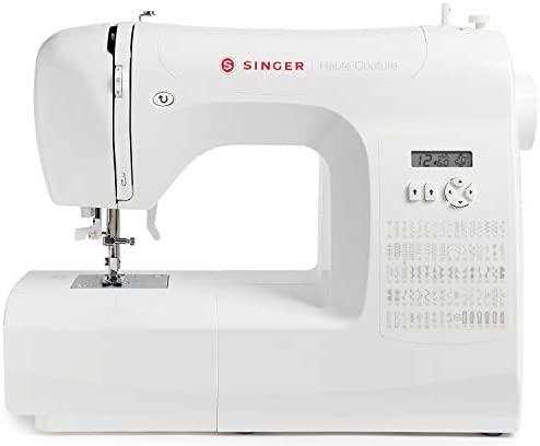 Singer Haute Couture – Máquina de coser electrónica – Edición Limitada – 80 puntadas – Máquina de coser portátil – Profesional – Automática – Para una costura creativa – Fácil para principiantes
