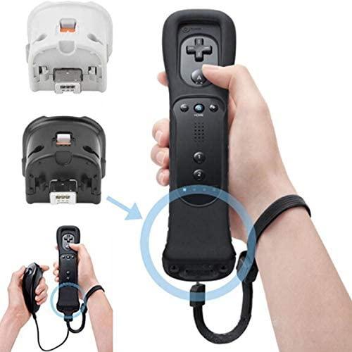 SunshineFace Sensor de Movimiento Remoto Plus Adaptador de Controlador + Funda de Silicona para Nintendo Wii