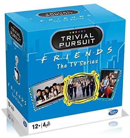 Trivial Pursuit de viaje Friends Juegos Trivial Pursuit de Viaje-Friends-Versión en español, Color (Winning Moves WM00004-SPA-6)