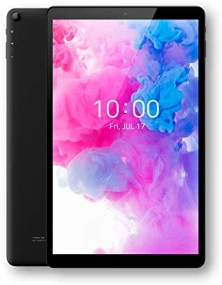 ALLDOCUBE iPlay20 Pro Tablet con 4G LTE, Pantalla Gorilla Glass de 10.1 Pulgadas, CPU Octa-Core SC9863A, RAM DDR4 de 6GB, ROM de 128GB, Android 10, Negro